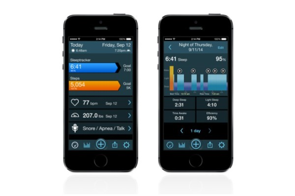The MotionX 24/7 sleep tracking app gives smart feedback on your sleep habits.