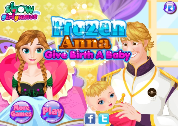 "Frozen Anna Give Birth Game, and other horrific online Frozen games we found ""for kids"""
