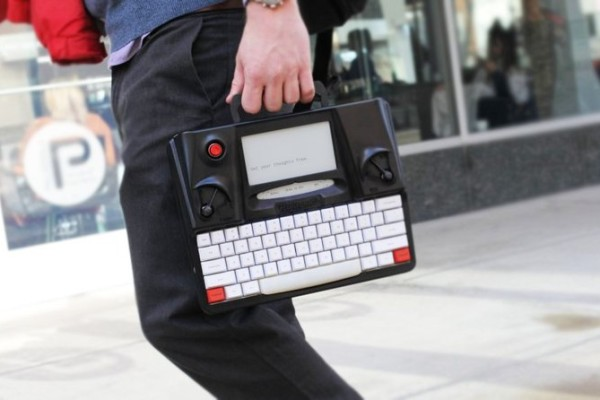 Hemingwrite distraction free digital typewriter