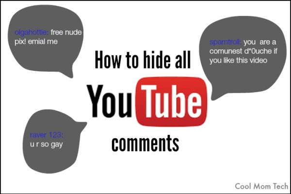 How to hide all YouTube comments | Cool Mom Tech