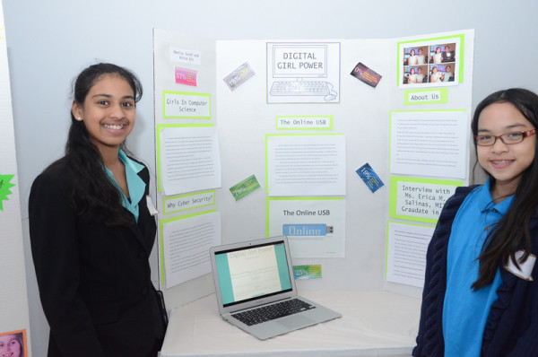 ProjectCSGIRLS competition gets middle-school girls excited about STEM