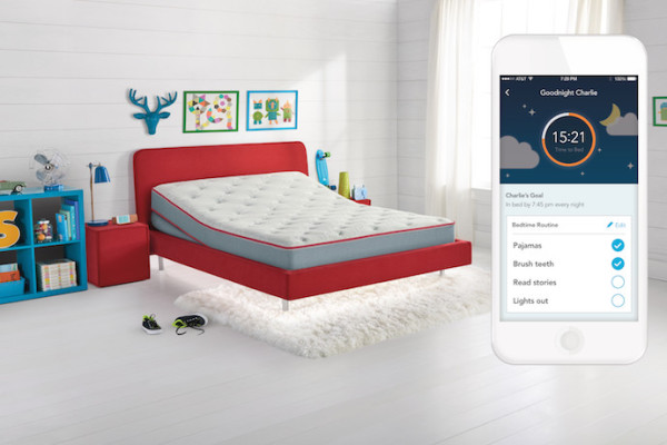Sleep IQ Kids Bed from Sleep Number | Monitors and Tracks kids' sleep habits