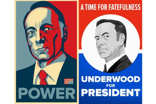 House of Cards Season 3 political posters inspired by old campaign slogans