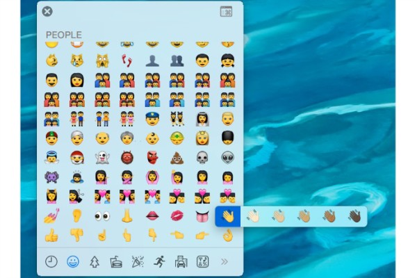 Apple's upcoming OS and iOS updates will include diverse emoji