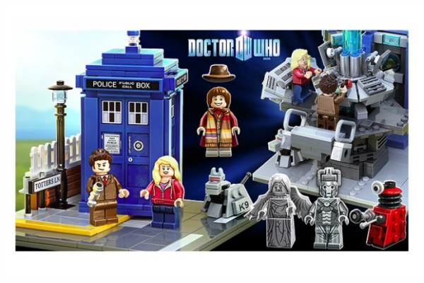Dr. Who Lego sets are coming soon!