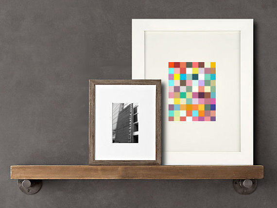 Pixel wall art by Modbee Design