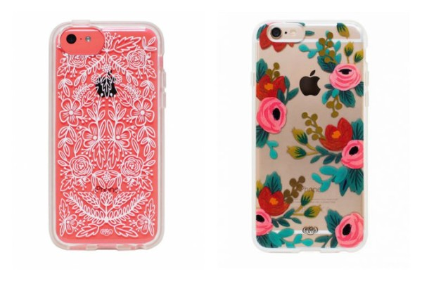 Pretty floral iPhone cases from Rifle Paper Co.