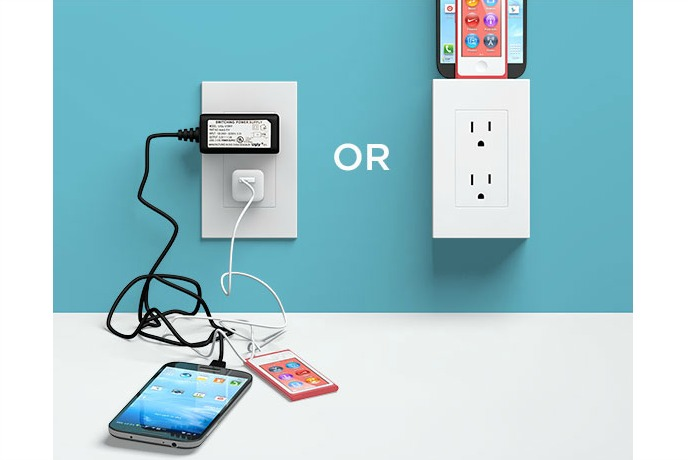 The thingCHARGER reinvents the outlet to charge all of the things.