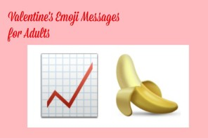 Funny emoji messages for your sweetheart on Valentine's Day: An eggplant is never just an eggplant.