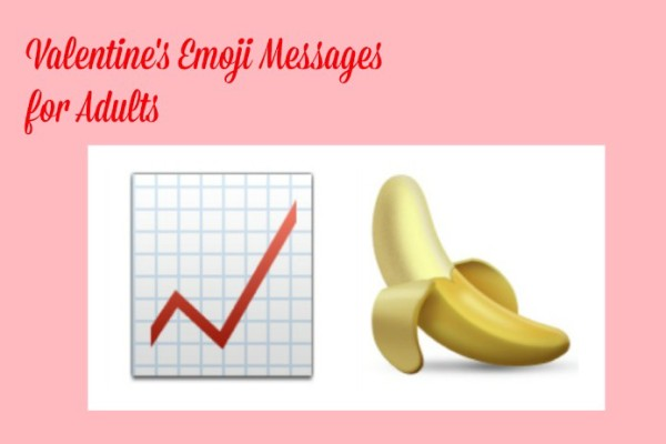 Funny Valentine's emoji messages for adults on Cool Mom Tech