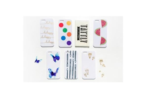 DIY Tattly iPhone case