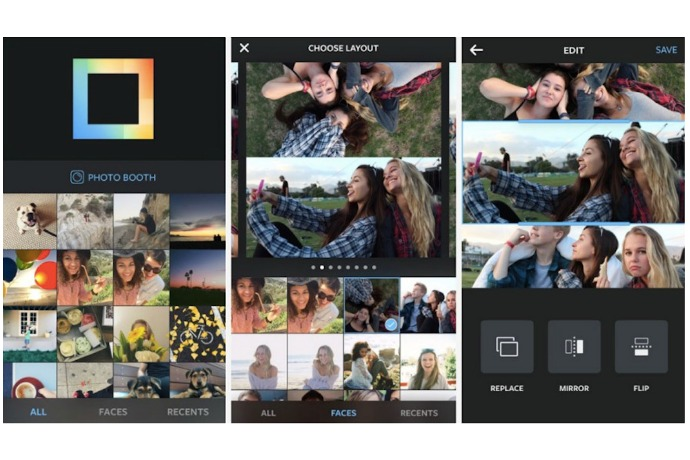 Layout from Instagram: Finally, Instagram's own photo collage app.