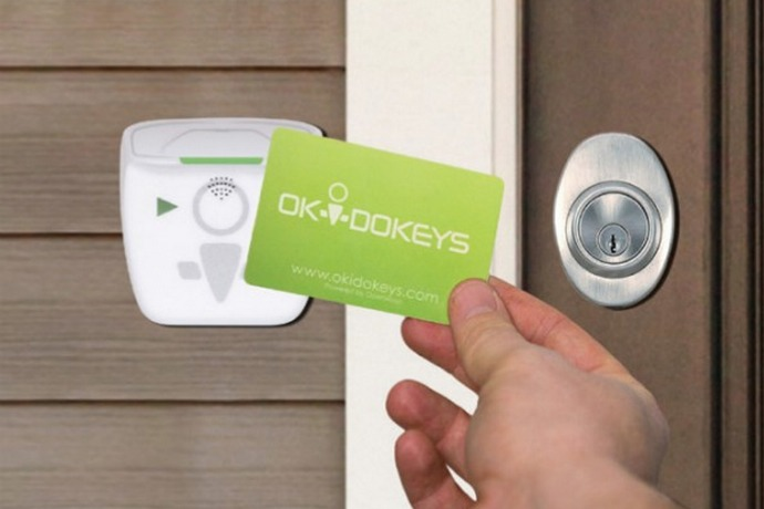 The Okidokeys smart lock is so brilliant, they should change the name to the Okidokeys brilliant lock.