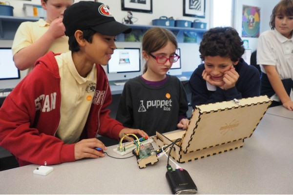 Piper is a cool toolbox that lets budding engineers create and control their own Minecraft world.