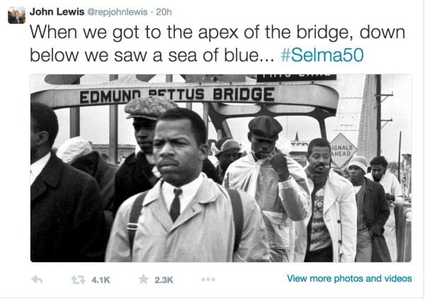 Rep Jon Lewis on Twitter: A must-read for talking to kids about #selma50