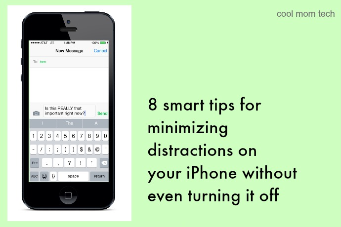 8 smart ways to make your iPhone less distracting, without turning it off