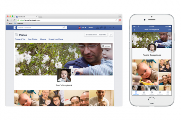 Scrapbook by Facebook: A new service for organizing and tagging photos of your kids photo tagging option for parents on Facebook