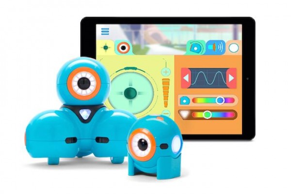 Dot and Dash robots: fantastic way to teach kids of all age to code