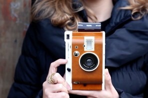 The new Lomo'Instant: The fun of lomography meets the immediate gratification of instant film.