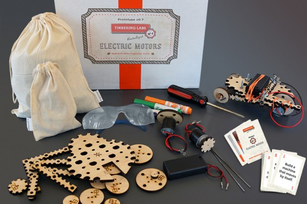 Cool Tinkering kit encourages STEM at home and schools