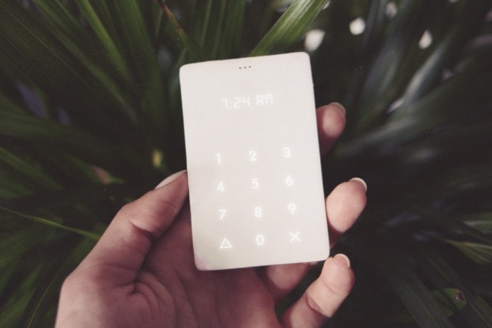 Piquing our geek: The Light Phone helps keep you off your phone.