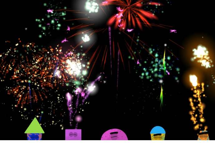 A new fireworks app for kids that is all fun, no fear