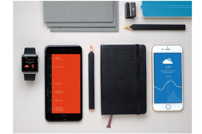 New Moleskine Timepage app for iPhone is about beauty and brains. We like that combo.