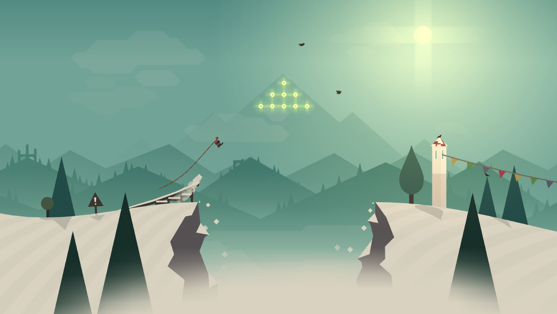 Alto's Adventure: A beautiful app to cool you down on a hot day