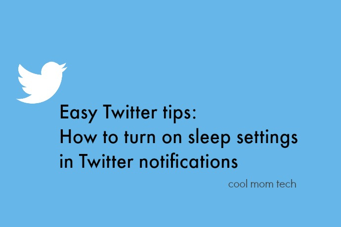 Life management tip: How to turn off Twitter notifications during certain hours using sleep settings