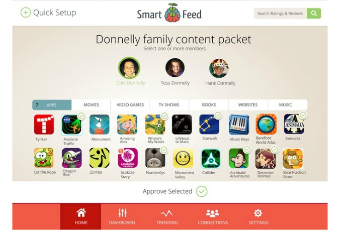 Piquing our geek: Can SmartFeed make our kids' media more mindful, not mindless?