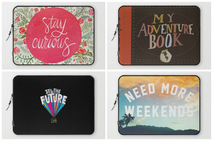 7 fun laptop cases for college students. No drinking jokes.