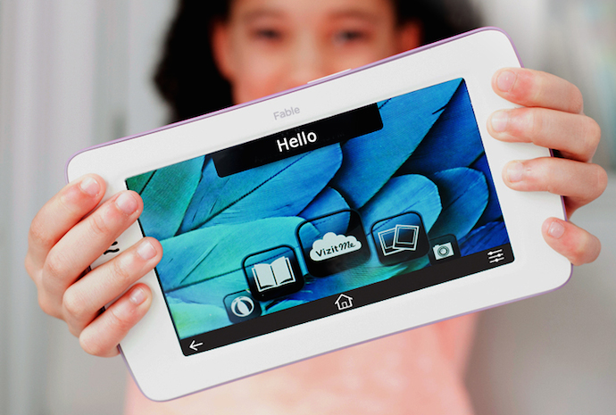 Fable tablet: Can it sit at the table with the other kids' tablets? Here's our review.