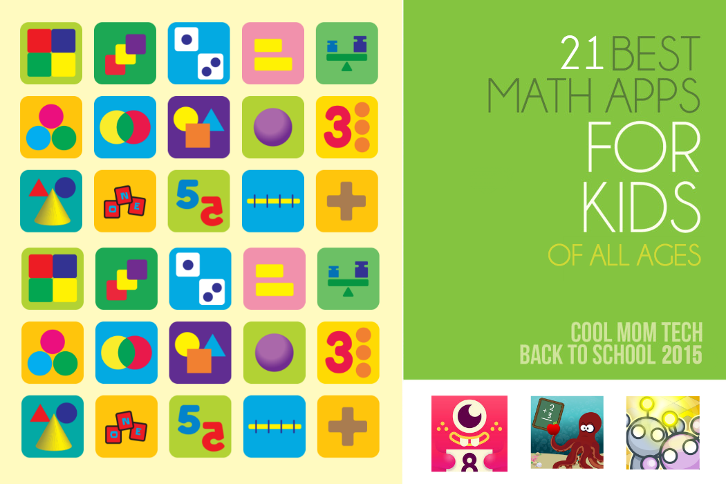 21 Of The Best Math Apps For Kids Of All Ages: Back To