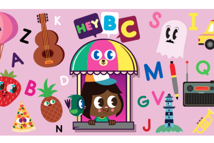 The HeyBC spelling app makes learning very very cute