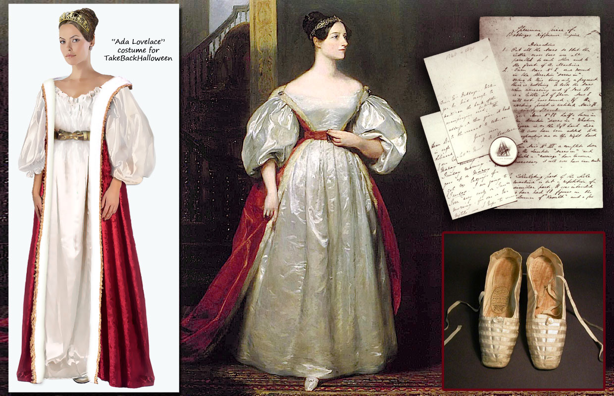 Last minute Halloween costume ideas: Ada Lovelace and other notable women in STEM