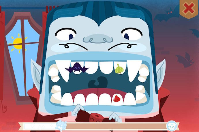 3 fun, free toothbrushing apps for kids. Because, Halloween candy.