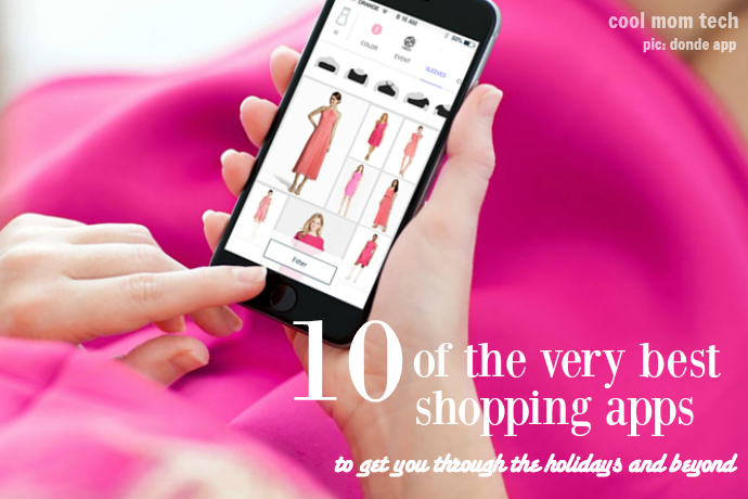 10 of the best shopping apps to put some yay in your holidays. (Holidyays?)