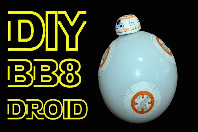 Make your own Star Wars BB-8 and more, with free tutorials from littleBits