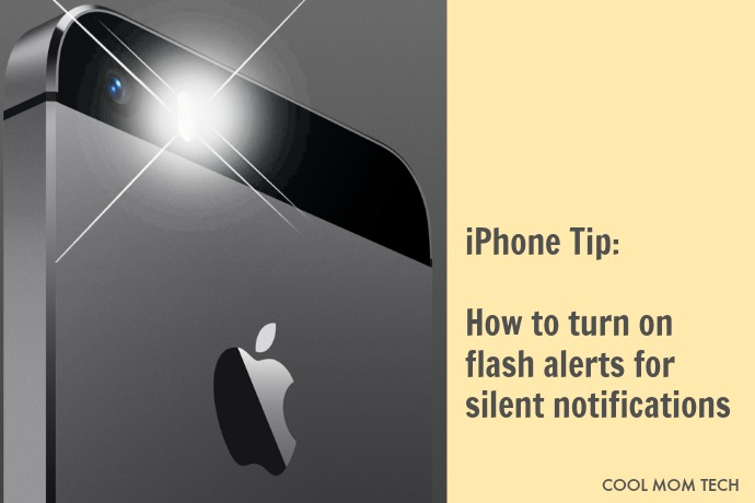 iPhone tip: How to turn on LED flash alerts for silent notifications