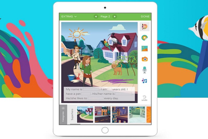 Scribble Creative Book Maker app: Let kids become instant authors and illustrators