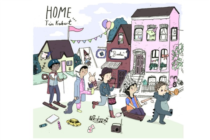 Rooms by Tim Kubart: Kids' music download of the week