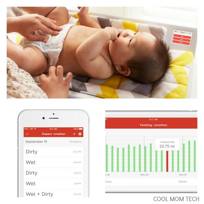 The new Hatch Baby Changing Pad tracks weight gain, feeding and other functions. Pretty amazing technology, but is it too much?