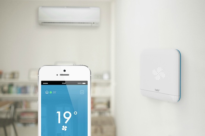 Tado offers smart climate control, now for homes without central heat or air