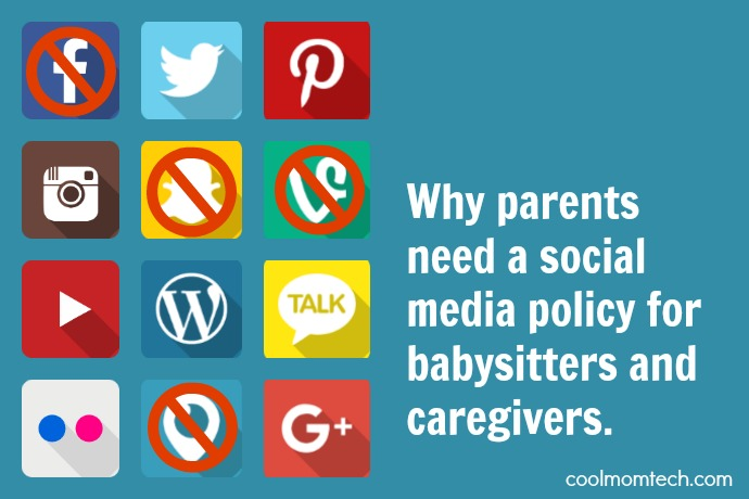 Why parents need a social media policy for babysitters and caregivers, and how to get started