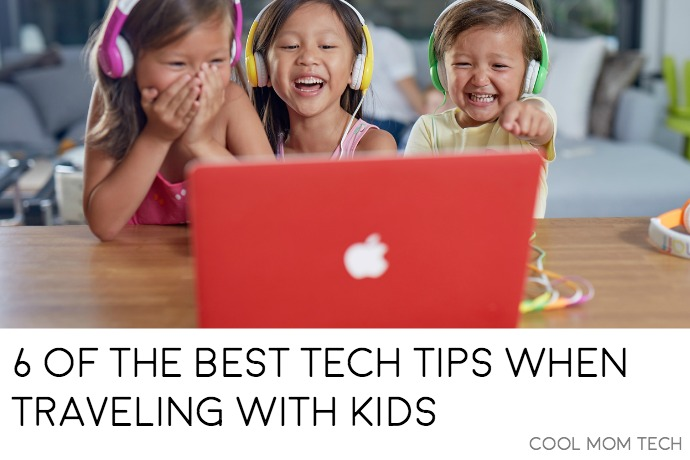 6 simple tech tips for travel with kids that save us every time.