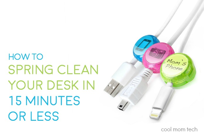 The 15 minute trick: A smart, easy way to spring clean and organize your home office