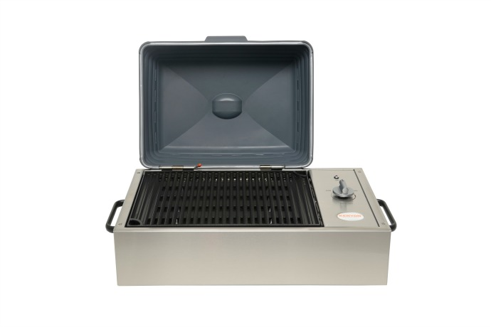 The ultimate indoor/outdoor grill for people who thought they could never have one. Tech to the rescue!