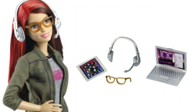 Game Developer Barbie is here, she's hip, and she actually knows how to code.