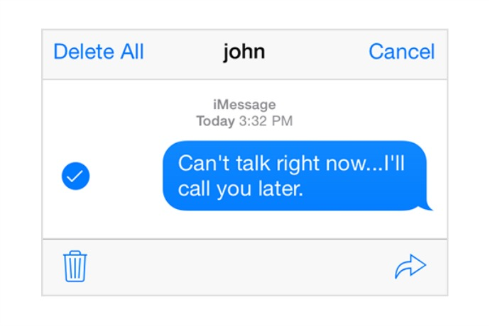 2 simple iPhone tricks for quickly sharing texts and voice mails
