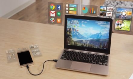 The Superbook turns your smart phone into a laptop. Yes, you read that correctly.